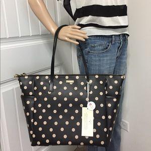 Kate Spade Polka Dot Diaper Baby Bag